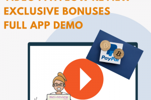 Video Payflow Review – Why A $10 Investment For Video Payflow Can Pull Your Business Up?