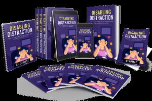 Disabling Distraction PLR Review – Overcome Tech Addiction, Dangerous Habits That Destroy Your Productivity