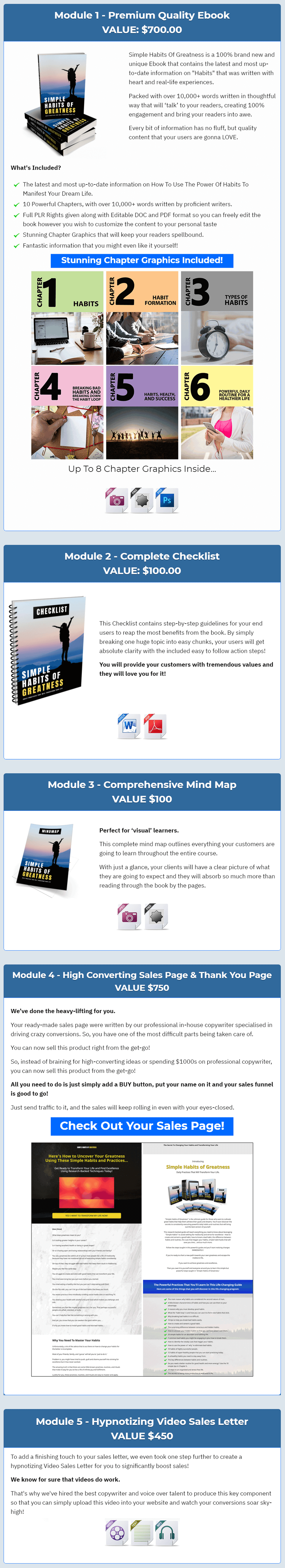 PLR-Simple-Habits-Of-Greatness-feature-1-module