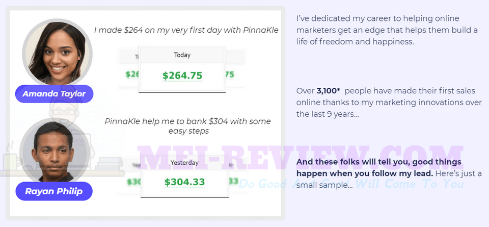 PinnaKle-feedback