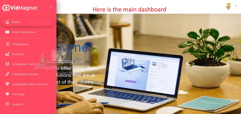 VidMagnet-Demo-2-dashboard