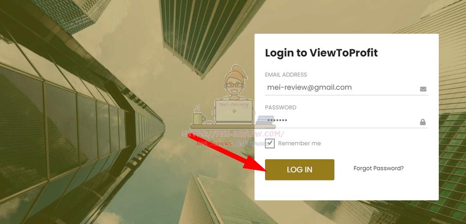 ViewToProfit-Demo-1-Login