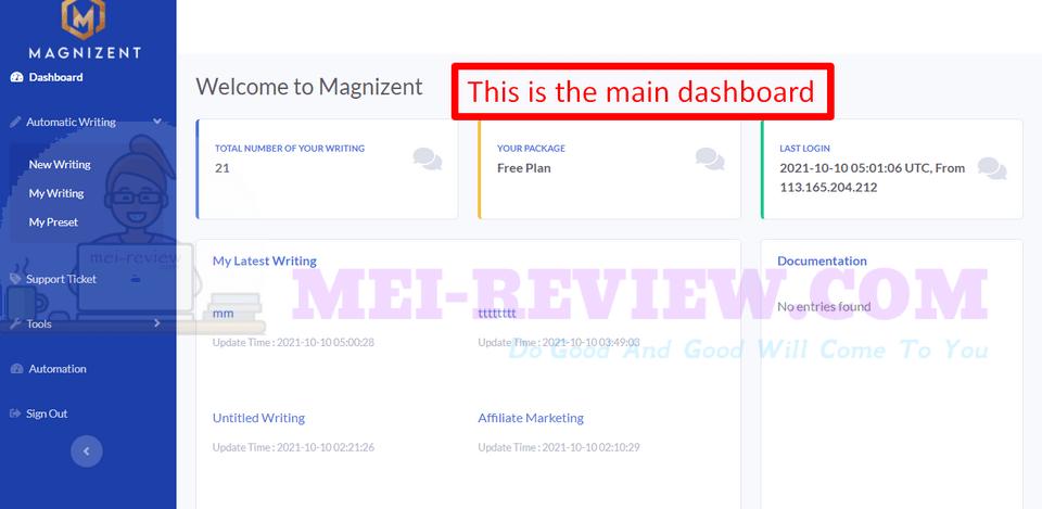 Magnizent-demo-2-dashboard