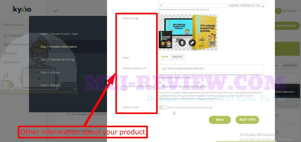 Membervio-demo-4-Product-Information