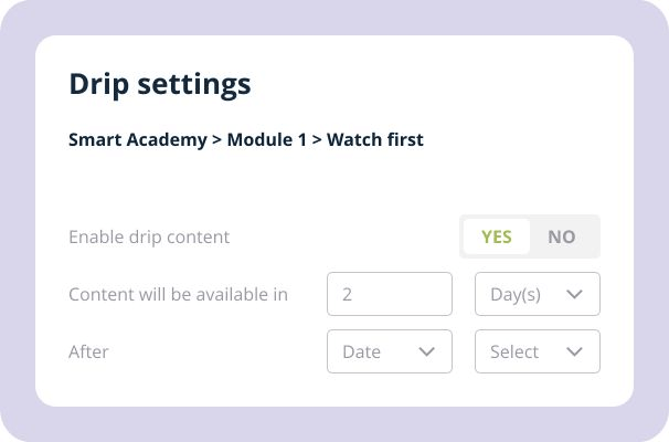 Membervio-feature-15-Enable-Content-Drip-Feed