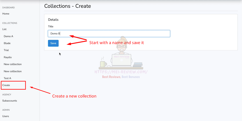 NFT-Collection-Maker-Demo-2-create-collection