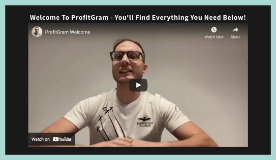 ProfitGram-feature-9-Training