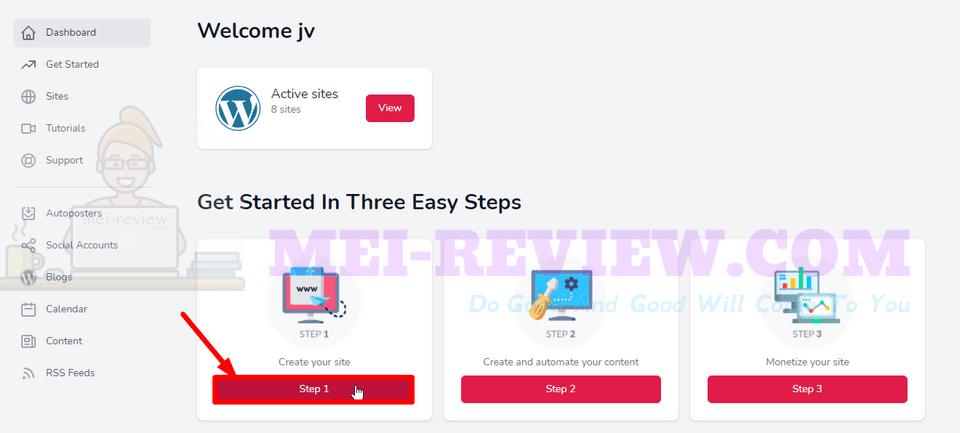 Smart-Content-Profits-demo-4-Create-Your-Site